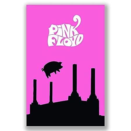 boxprints Pink Floyd Cartel Icónico de la Leyenda de la ...