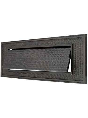 Standard Bungalow Mail Slot With Plain Front (Standard Mail Slot)