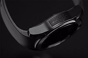 ZOMTOP V8 Deporte Bluetooth Ronda de la muñeca Smart Watch cámara ...