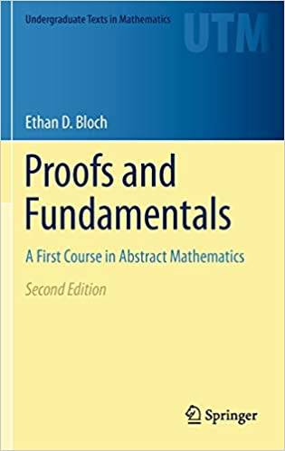 Proofs and Fundamentals: A First Course in Abstract