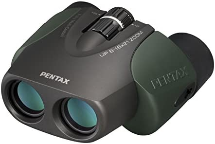 Pentax UP 8-16×21 Compact Zoom Binoculars Green