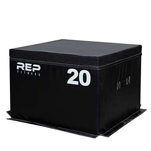Rep Foam Soft Plyo Box for Plyometric Exercises and Conditioning - 20 inch Height