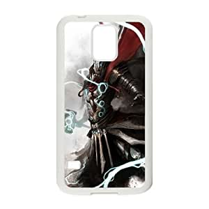 Medieval Thor Fantasy Samsung Galaxy S5 Cell Phone Case White Customized Toy pxf005_9722715