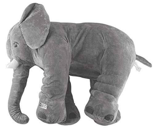 Grifil Zero Elephant Plush Toy Extra Large Size Animal Plush Doll Toy Grey 24 inch - Elephant Soft Pillow