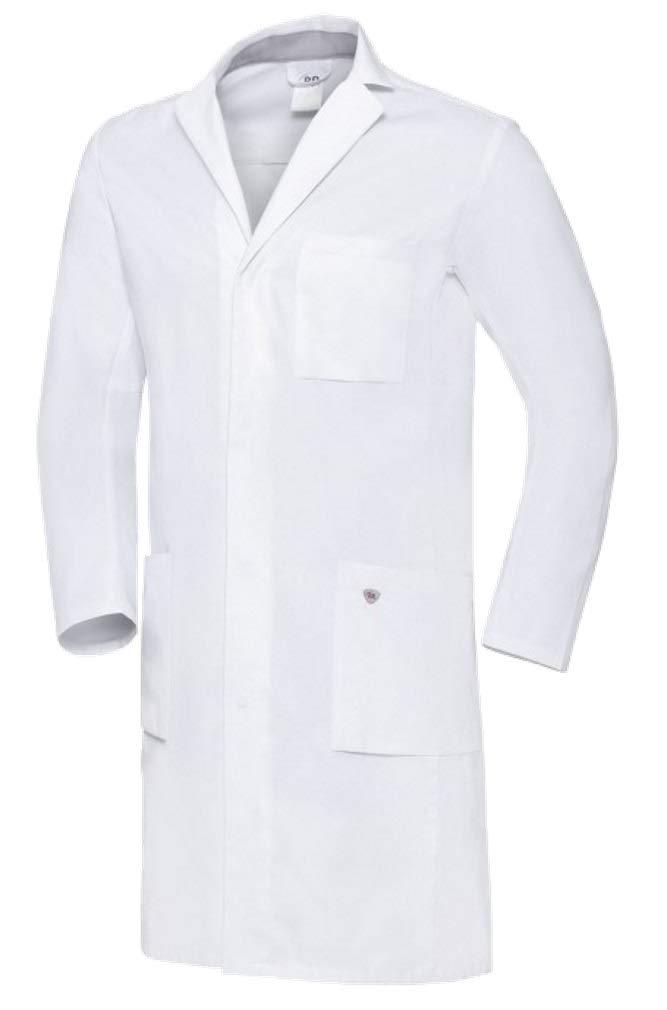 BP 1753-130-0021 Med & Care - Bata de médico para hombre (algodón ...