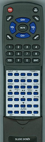 Replacement Remote for Pyle PHST90, PHST96, PHST94, QS0011, IP-RM01