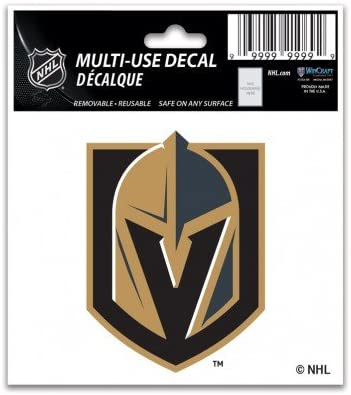 Vegas Golden Knights 3 X 4 Multi-use Decal
