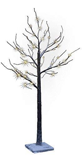 Lightshare 4' Lighted Snow Tree, Small