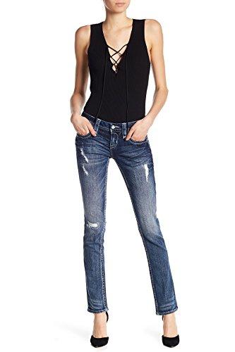 Rock Revival Womens Alivia Straight Jeans Denim Pant