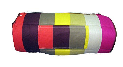 SoHo New York Stripe nap mat for toddler preschool day care with pillow lightweight rolled nap mats by SoHo Designs (Image #2)