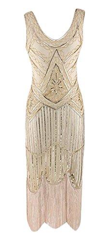Cromoncent Apricot Latin Fringe Slim Dance Short Sequin Sexy Glitter Dress Women Pqw7ZPB