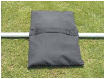 Amazon.com: 4 bolsas de arena en Heavy Nylon W reforzada con ...