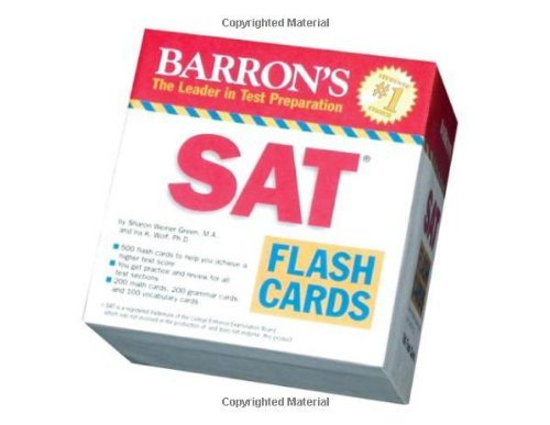 Cal Wolf - Barron's SAT Flash Cards (Barron's: the Leader in Test Preparation)