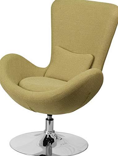 Phenomenal Amazon Com Mikash Contemporary Design Green Fabric Egg Andrewgaddart Wooden Chair Designs For Living Room Andrewgaddartcom
