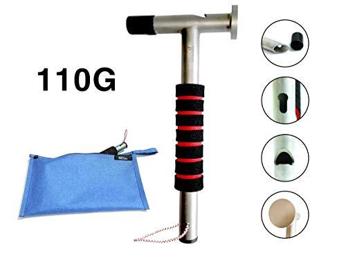 DESERT WALKER Tent hammer Claw hammer Titanium hammer Ultra light hammer3.8Ounce (silver)