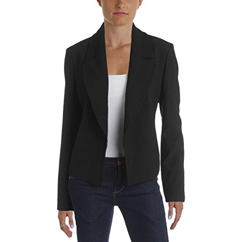 Hugo Boss Boss Womens Open Front Lined Blazer Black - Boss Ladies Sale Hugo