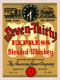 Collectible Liquor Bottle Labels - Set of 23 Assorted Labels - Includes Whiskey, Bourbon, Gin & Vodka (Ale Brew Distiller compare prices)