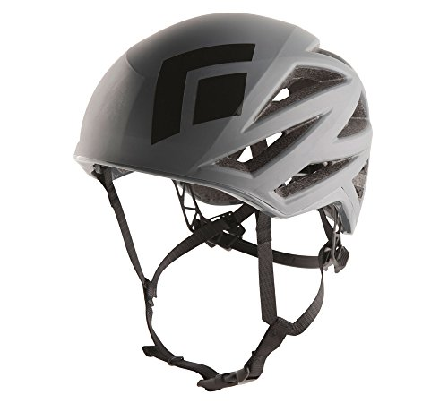 Black Diamond Vapor Helmet Steel Grey M/L and HDO Lite E-tip Gloves with Grippers