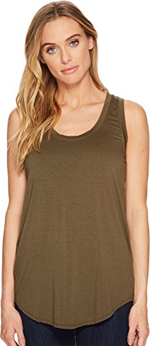Three Dots Women's Lightweight Viscose Long Tank NICOISE X-Small (Three Viscose Dots)