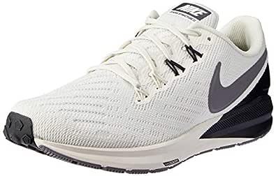 Nike Women's Air Zoom Structure 22 Running Shoes, Phantom/Gunsmoke-Oil Grey, 5.5 US