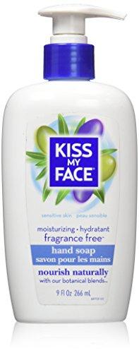 Kiss My Face Skin Nourishing Liquid Moisture Soap - Fragrance Free - 9 oz