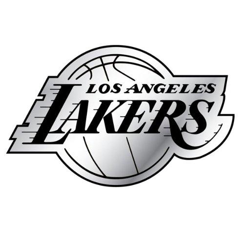 Los Angeles Lakers Silver Auto Emblem