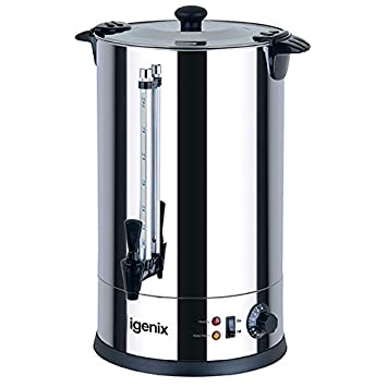 Igenix IG4008 Catering Urn, Hot Water Boiler, Tea Urn for Home ...