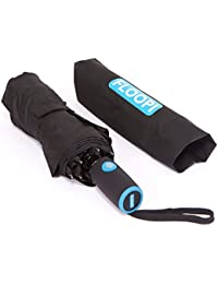Windproof Automatic Travel Umbrella with Teflon Water Repellent Coating