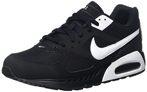 NIKE Air Max Ivo Mens Running Shoes Black White Black 011