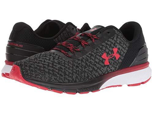 [UNDER ARMOUR(アンダーアーマー)] メンズランニングシューズ?スニーカー?靴 UA Charged Escape 2 Black/Graphite/Red 8 (26cm) D - Medium