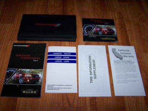 2012 Dodge Grand Caravan Owners Manual