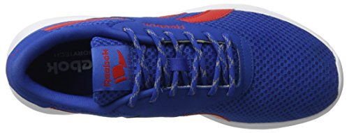 Reebok Bd4176, Zapatillas de Trail Running para Hombre Azul (Azul (Awesome Blue /     Primal Red /     White)
