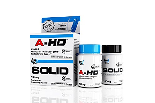 BPI Sports NEW, A HD/Solid Stack, Re Introduced (Original Formula) 28 capsules each