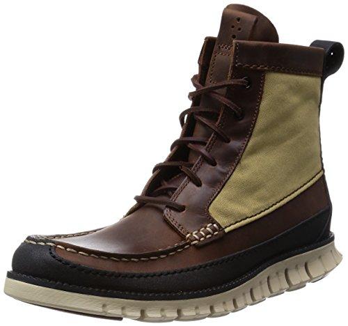 Cole Haan Men's Zerogrand Tall Boot, Sequoia/Black, 7.5 M - Cole Haan Sequoia