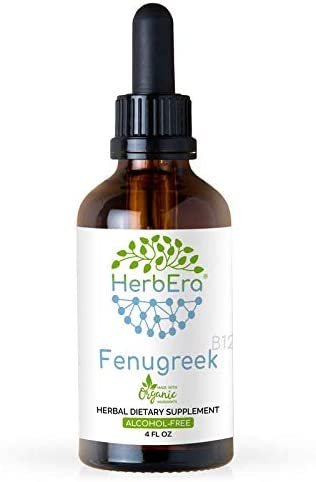 Fenugreek B120 Alcohol-Free Herbal Extract Tincture