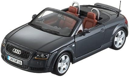 Amazoncom Maisto 118 Audi Tt Roadster Black 31878 Black By