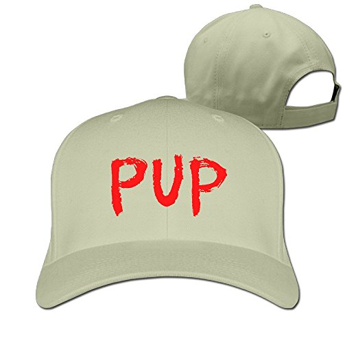 unisex-pup-logo-adjustable-snapback-basaball-cap-100cotton-natural-one-size