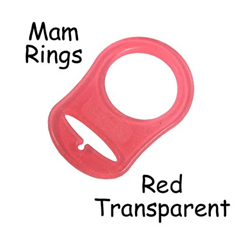 5 MAM Ring Button Style Pacifier Adapter (clear) - by i Craft for Less