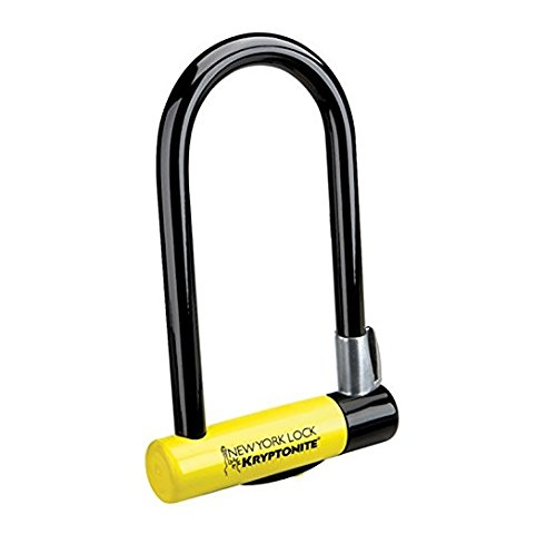 Kryptonite Bügelschloss New York Lock 3000 mit Flex Frame Halter, 3500326
