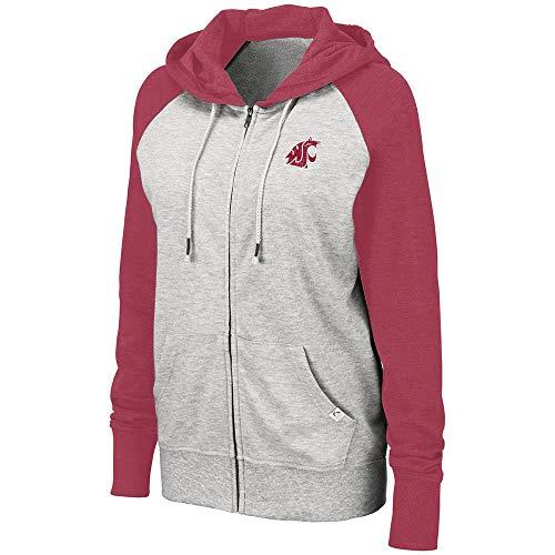 Womens Washington State Cougars Trento Full Zip Hoodie - XL