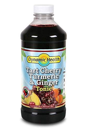 Dynamic Health Tart Cherry Turmeric and Ginger Tonic Supplement, 16 (Health Cherry)