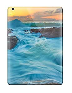 Durable Case For The Ipad Air- Eco-friendly Retail Packaging(k Wallpapers Sea )