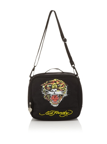 Ed Hardy Shal Tiger Lunchbox, Black ()