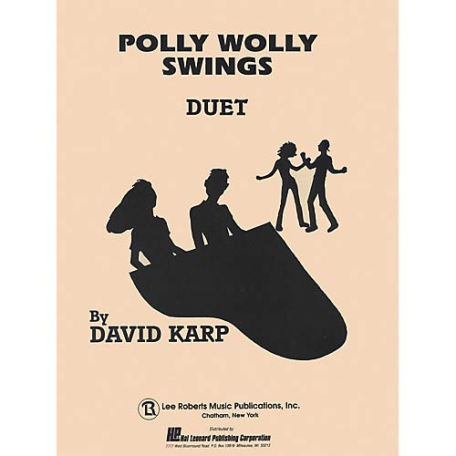 Polly Wolly Swings (Level 5) Pace Duet Piano Education Series Composed by David A. Karp, Pack of 3 -