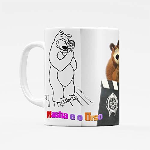 Caneca Masha E O Urso - Desenho Infantil