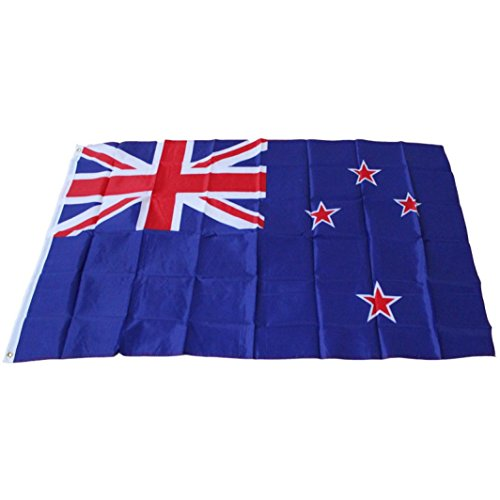 Iuhan® Fashion 3'x 5' Large New Zealand Flag Polyester National Banner