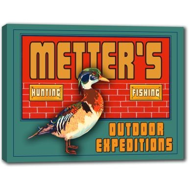 metters-outdoor-expeditions-stretched-canvas-sign-24-x-30