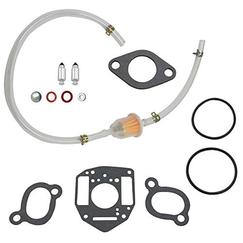 (FidgetKute for Performer Series Engines Carburetor Repair Kit Replaces for John 318-320)