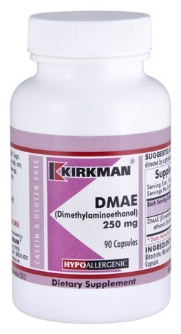 DMAE (Dimethylaminoethanol) 250mg Capsules - Hypo by Kirkman Labs