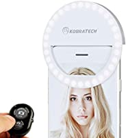 KobraTech Selfie Light Ring - MiLite Phone Ring Light iPhone & Android Compatible with Remote Shutter